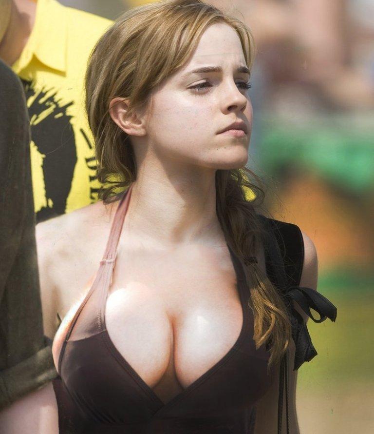 эмма уотсон грудь фото