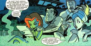 Harley and Ivy discuss Batfleck and how to save money on Batman vs Superman